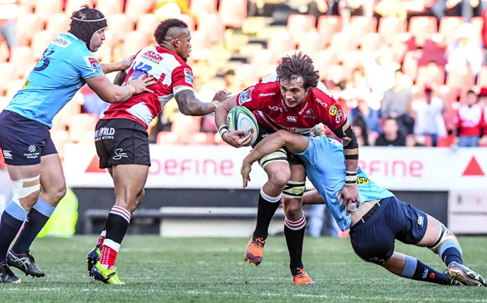 The Waratahs and Lions in action during their Super Rugby semifinal in Johannesburg. Picture: @SuperRugbyNZ/Twitter