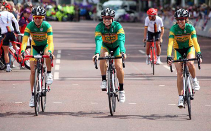 Team SA cyclists at the 2012 London Olympics. Picture: Christine Phillips/iWitness