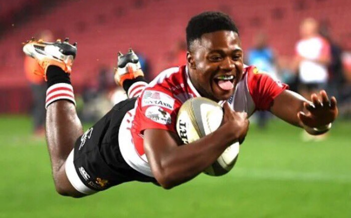 Flanker Vincent Tshituka. Picture: Supplied.