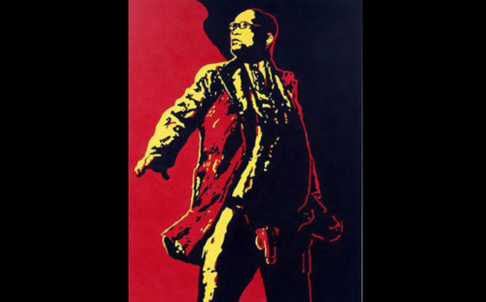 The 'Spear' painting by SA artist Brett Murray sparked outrage from the ANC and its alliance partners last year. Picture: Supplied