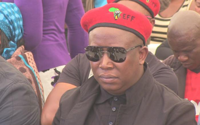 Police say violence escalated after EFF leader Julius Malema endorsed the work stoppage. Picture: Christa Van der Walt/EWN