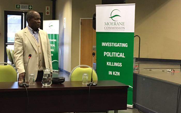 University of KwaZulu-Natal Professor Paulus Zulu will make academic submissions on political violence in KZN. Picture: Ziyanda Ngcobo/EWN