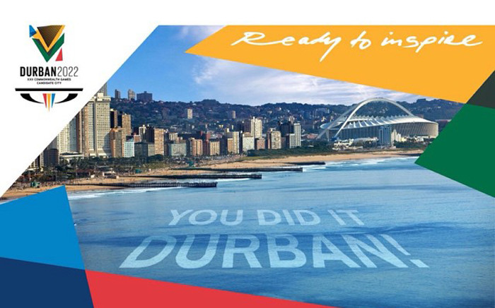 Durban announced as official host for the 2022 Commonwealth Games. Pictures: www.durban-2022.com