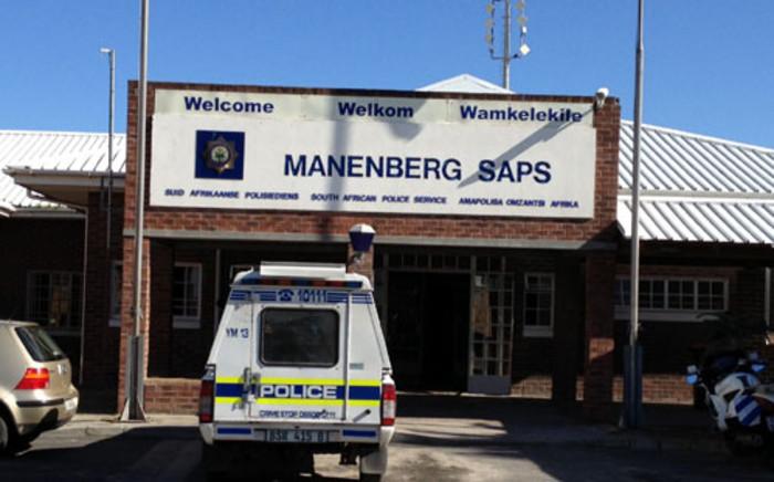 Manenberg Police Station. Picture: Renee de Villiers/EWN