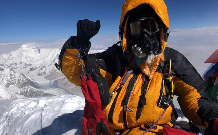 Saray Khumalo on Mount Everest in Nepal. Picture: Saray Khumalo/Facebook.com