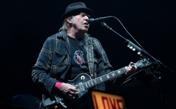 FILE: Neil Young performs in Quebec City in 2018. Picture: AFP.