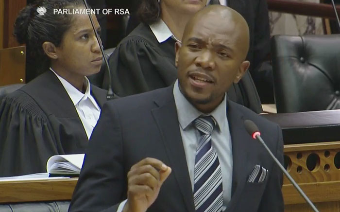 DA Leader Mmusi Maimane. Picture: Screengrab.