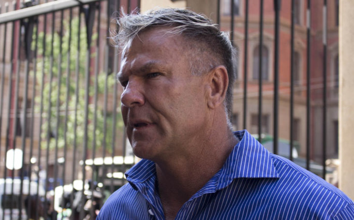 FILE: Marc Batchelor outside the High Court in Pretoria ahead of Oscar Pistorius's sentencing on 14 October 2014. Picture: Christa Eybers/EWN