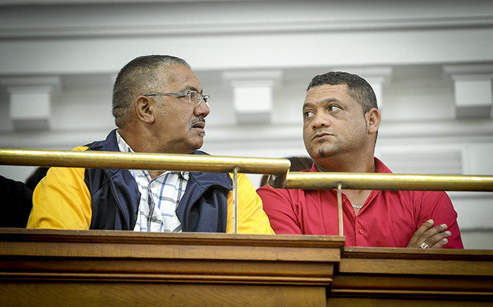 Zephany Nurse's father Morne in the Western Cape High Court. Picture: Thomas Holder/EWN