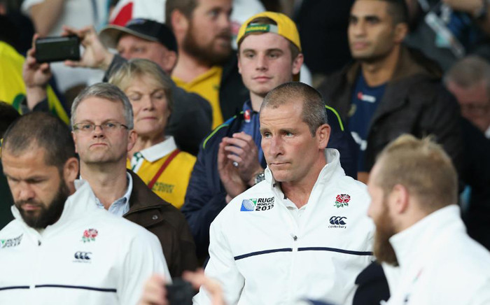 Stuart Lancaster has admitted he is considering his future as coach after England became the first hosts to fail to make the knock-out stages of the Rugby World Cup in the 28-year history of the tournament. Picture: Rugby World Cup website.
