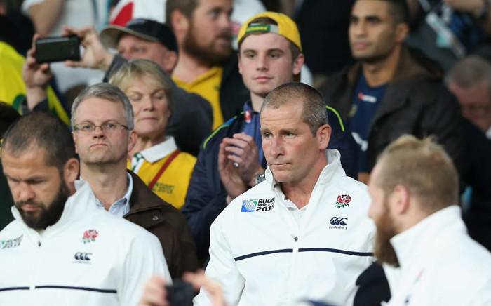 FILE: Stuart Lancaster (C). Picture: Rugby World Cup website.