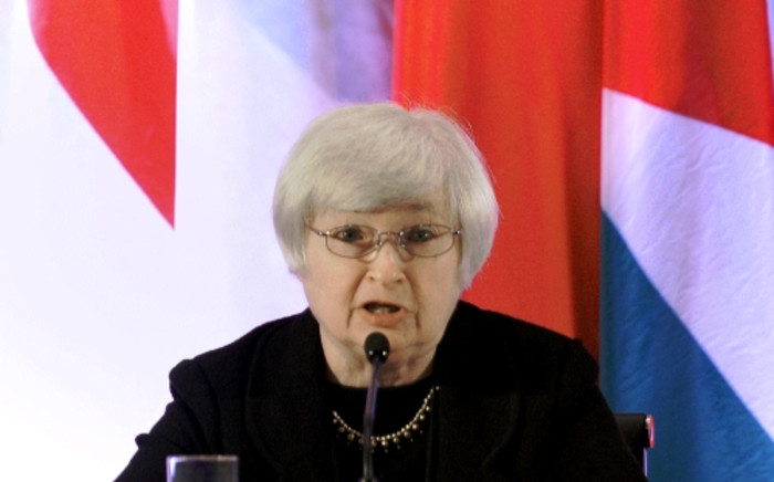 US Federal Reserve Vice Chair Janet Yellen. Picture: AFP
