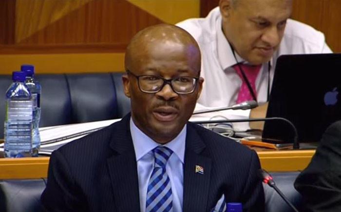 National Treasury's Director-General Dondo Mogajane. Picture: YouTube screengrab