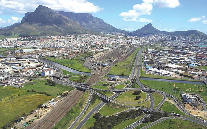 FILE: The Koeberg Interchange, where the N1 and M5 highways intersect in Cape Town. Picture: capetown.gov.za