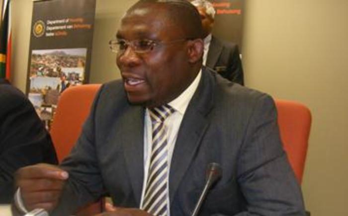 WC Human Settlements MEC Bonginkosi Madikizela.
