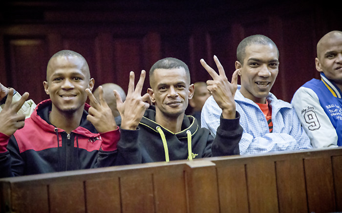 FILE: The prosecution in the trial against 17 convicted gangsters has dismissed as hearsay a heartfelt letter apparently written by a daughter, pleading for a lenient sentence for her father. Picture: Thomas Holder/EWN