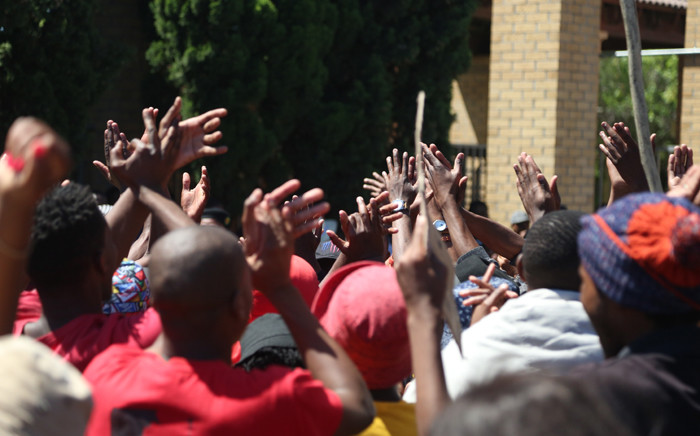 FILE: Officers arrested more than a dozen demonstrators yesterday. Picture: Andiswa Mkosi Primedia.