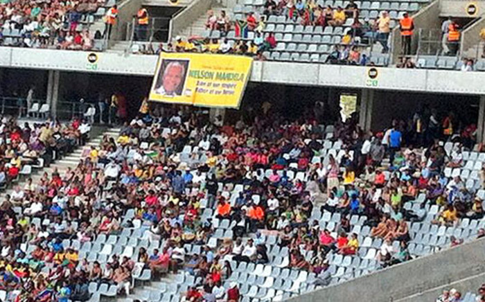 Capetonians celebrated Nelson Mandela with a memorial concert at the Cape Town Stadium.