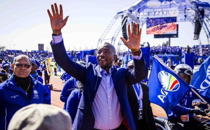 FILE: Democratic Alliance leader Mmusi Maimane. Picture: Twitter/@Our_DA.