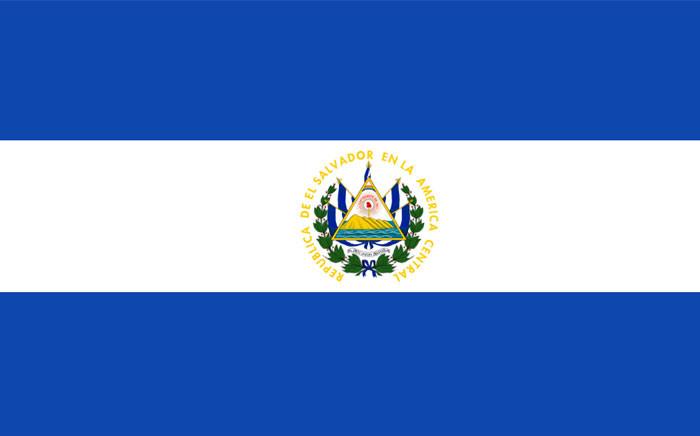 El Salvador flag. Picture: Wikipedia.