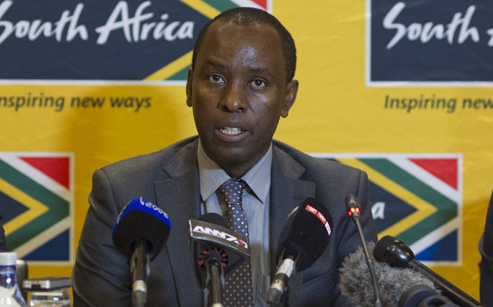 Mineral Resources Minister Mosebenzi Zwane. Picture: AFP