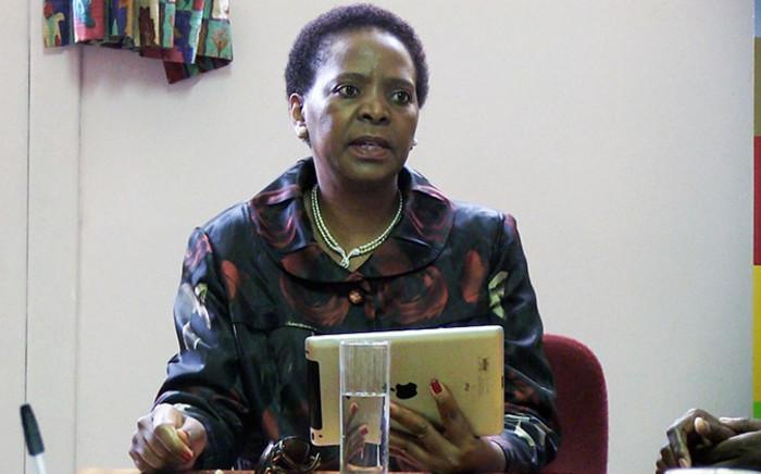 Gauteng Social Development MEC Nandi Mayathula-Khoza. Picture: Reinart Toerien/EWN.