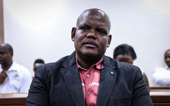 FILE: Former acting police commissioner Khomotso Phahlane appears in the Specialised Commercial Court in Johannesburg on fraud and corruption charges in March 2019. Picture: Abigail Javier/EWN.