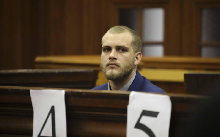 Henri van Breda awaits judgment in his murder trial on 21 May 2018 in the Western Cape High Court. Picture: Cindy Archillies/EWN