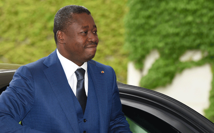 FILE: The president of Togo Faure Gnassingbe arrives for a meeting with the German Chancellor at the Chancellery in Berlin, Germany on 9 June 2016. Picture: AFP
