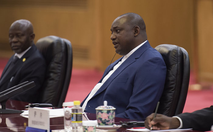 Gambian president Adama Barrow. Picture: AFP
