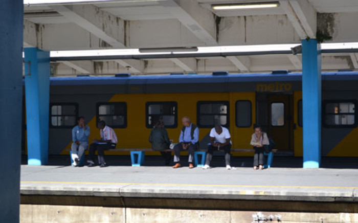 Metrorail station. Picture: EWN