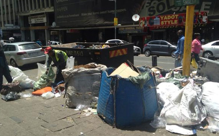 FILE: Hundreds of people were evicted from the Central Methodist church in the Johannesburg CBD on 31 December 2014. Picture: Masego Rahlaga/EWN.