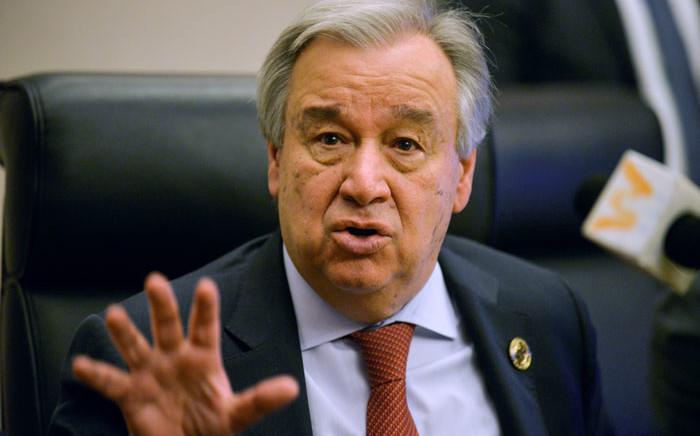 FILE: UN secretary-general Antonio Guterres. Picture: AFP