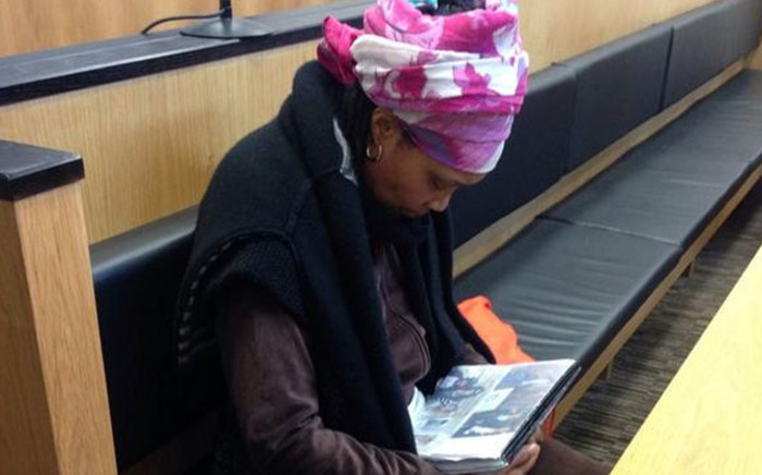 Thandi Maqubela appears in court on 3 September 2014. Picture: Rahima Essop/EWN.