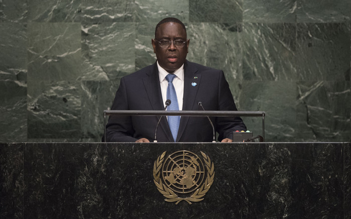 FILE: Macky Sall, President of the Republic of Senegal. Picture: United Nations Photo.