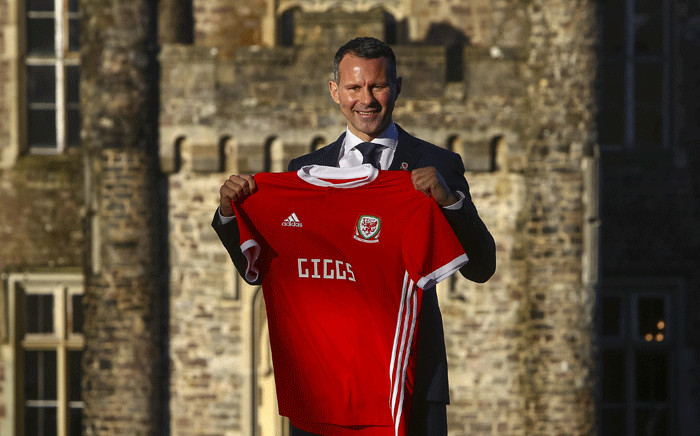 FILE: Wales manager, Ryan Giggs, poses for photographers at the Hensol Castle hotel, south Wales on 15 January 2018. Picture: AFP