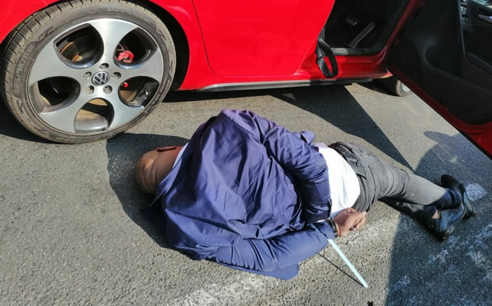 Johannesburg Metro Police arrested three suspects believed to be part of the infamous Rolex gang. Picture: @MichaelSun/Twitter