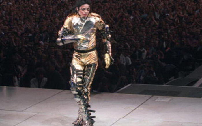 Michael Jackson performs on stage in 1997 in Germany. Picture: Gallo/Getty Images
