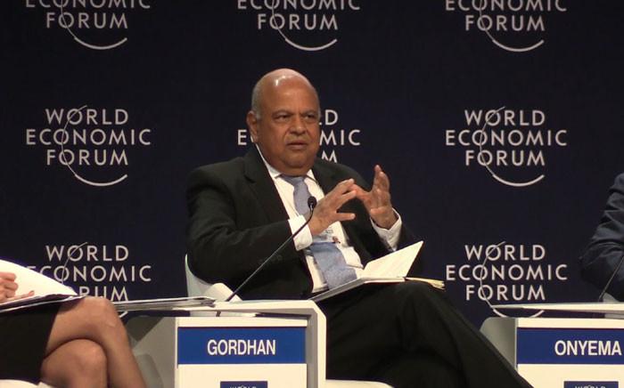 Finance Minister Pravin Gordhan. Picture: Vumani Mkhize/EWN.