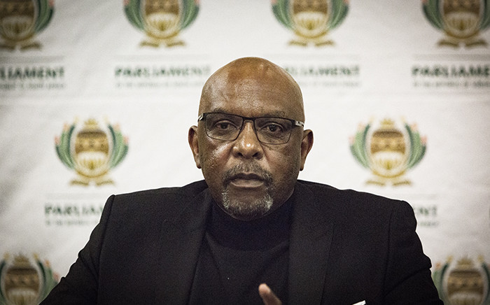 Former ANC MP Vincent Smith during a media briefing in Kempton Park, Johannesburg 24 June 2018. Picture: EWN.