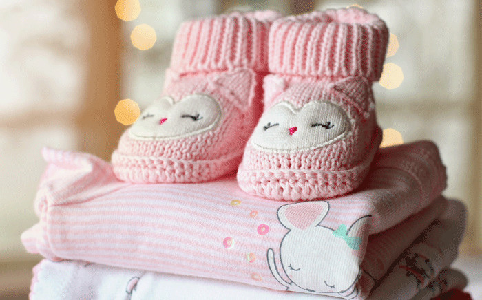 Baby clothes, newborn baby, baby girl. Picture: pixabay.com