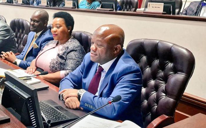 KwaZulu-Natal Premier Sihle Zikalala in the provincial legislature on 22 May 2019. Picture: @kzngov/Twitter