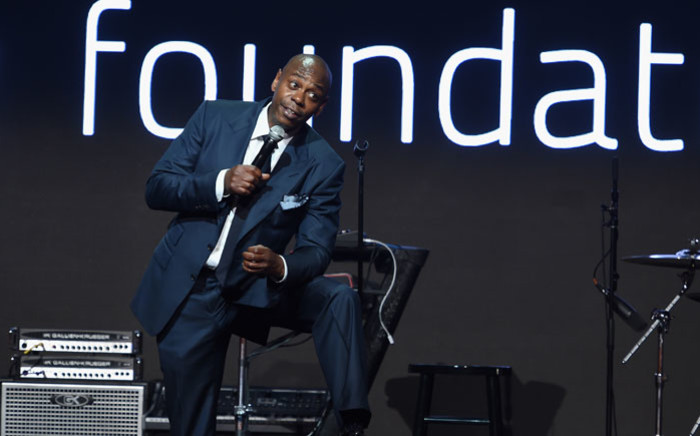 US comedian and actor Dave Chappelle. Picture: AFP