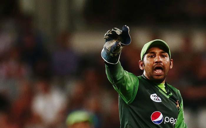 Pakistan captain Sarfraz Ahmed. Picture: @ICC/Twitter.