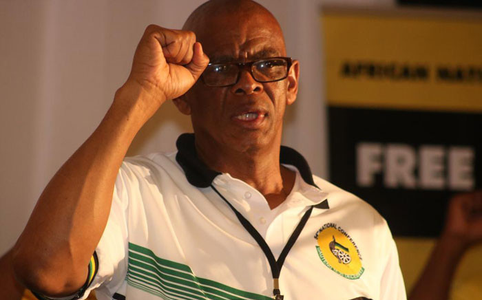 ANC secretary-general Ace Magashule. Picture: @ANCFS/Twitter