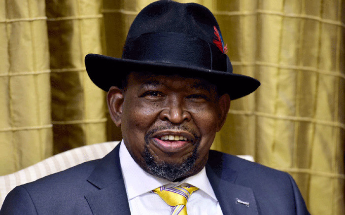 New Finance Minister Enoch Godongwana at the swearing in ceremony at the Union Buildings in Pretoria on 6 August 2021. Picture: GCIS.