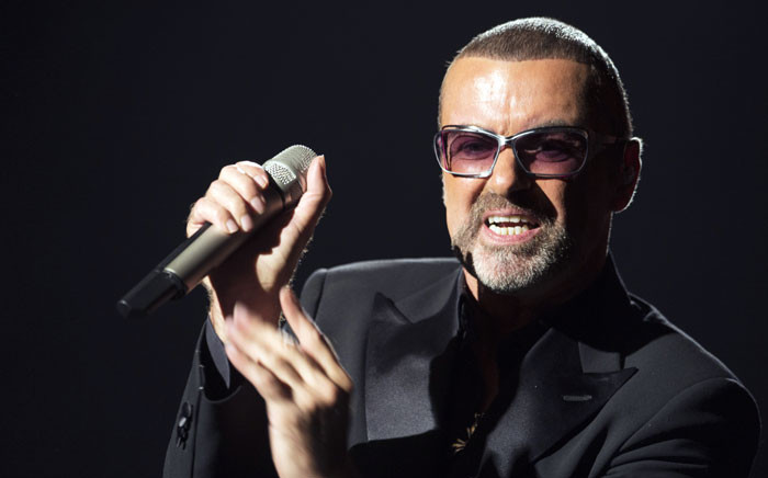 FILE: A photo taken on 9 September 2012 shows British singer George Michael performing on stage during a charity gala for the benefit of Sidaction, at the Opera Garnier in Paris. George Michael died aged 53, according to his publicist on 25 December 2016. Picture: AFP