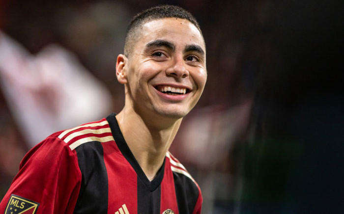 Paraguay midfielder Miguel Almiron during his time with Atlanta United. Picture: @ATLUTD/Twitter