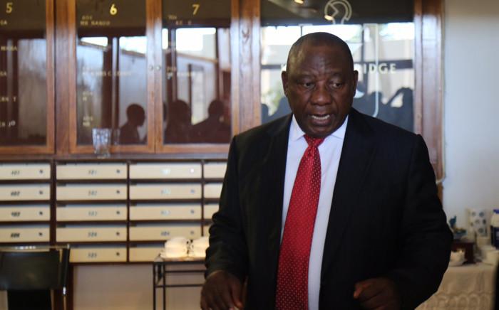 FILE: Deputy President Cyril Ramaphosa. Picture: Christa Eybers/EWN.