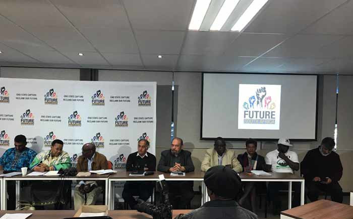 Newly launched civil society coalition Future SA at its launch on 31 July 2017. Picture: Masego Rahlaga/EWN